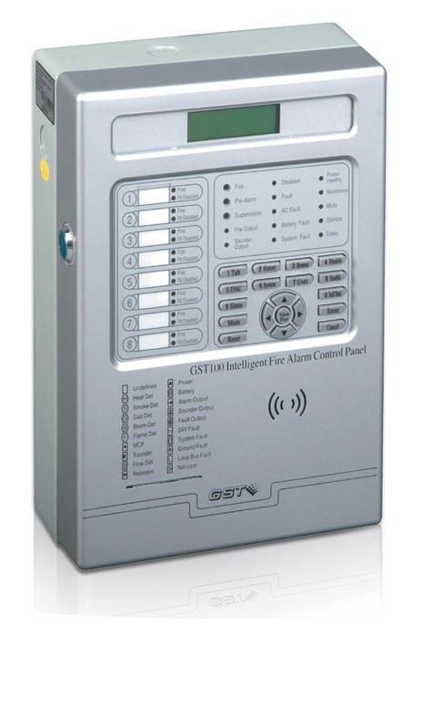 GST-100 One Loop Fire Alarm Control Panel