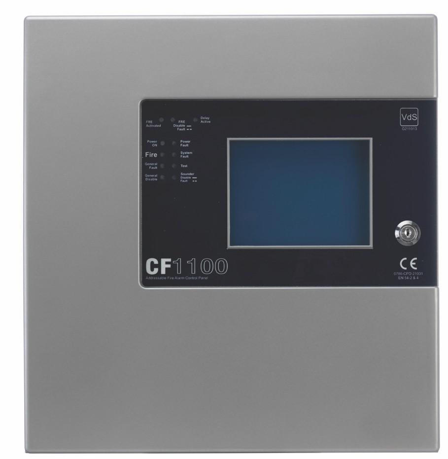 CF-1100 1 LOOP ADDRESSABLE FIRE ALARM CONTROL PANEL