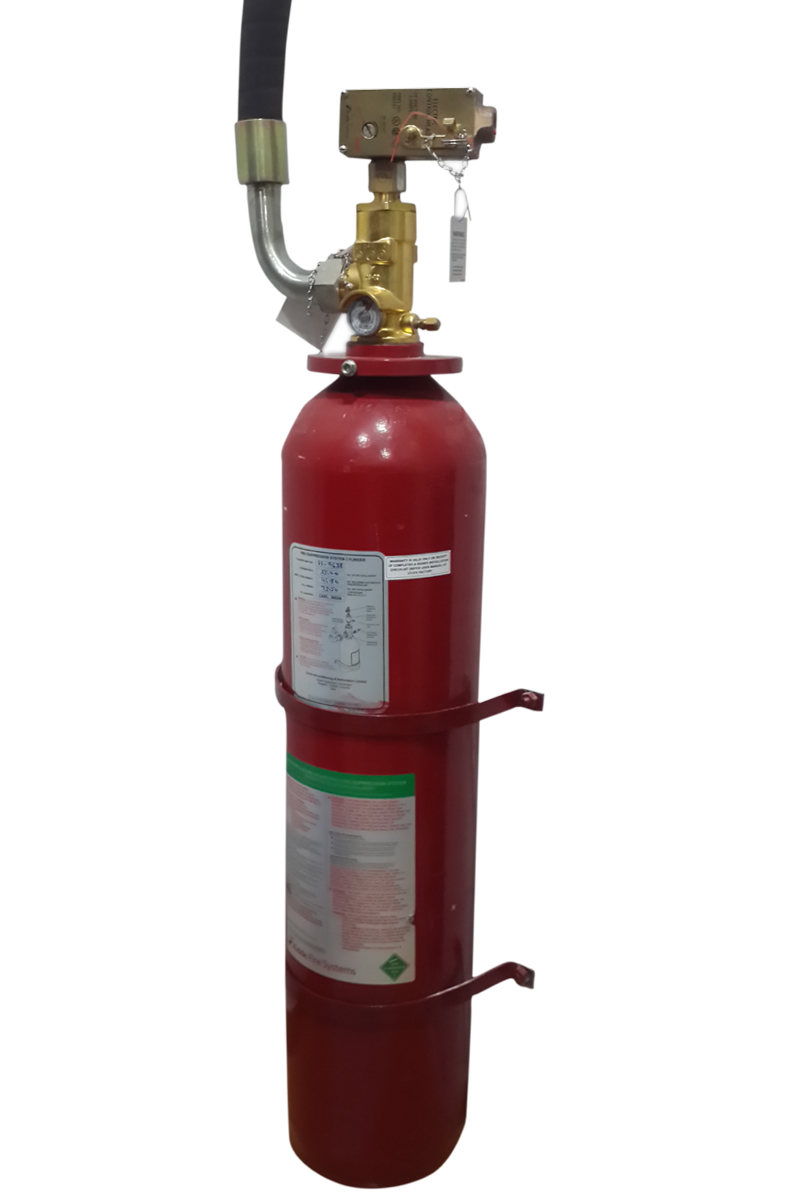 HFC 227-EA GAS BASED FIRE SUPPRESSION SYSTEM